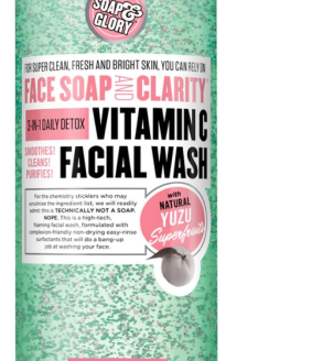 Vitamin C facial wash Soap and Glory